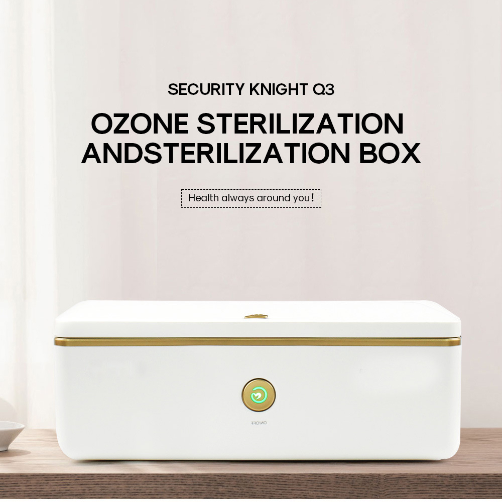 UV Sterilizer Disinfection Cabinet Nail Art Makeup Brush Manicure Cleaning Ultraviolet Sterilization Box Ozone Generator EU