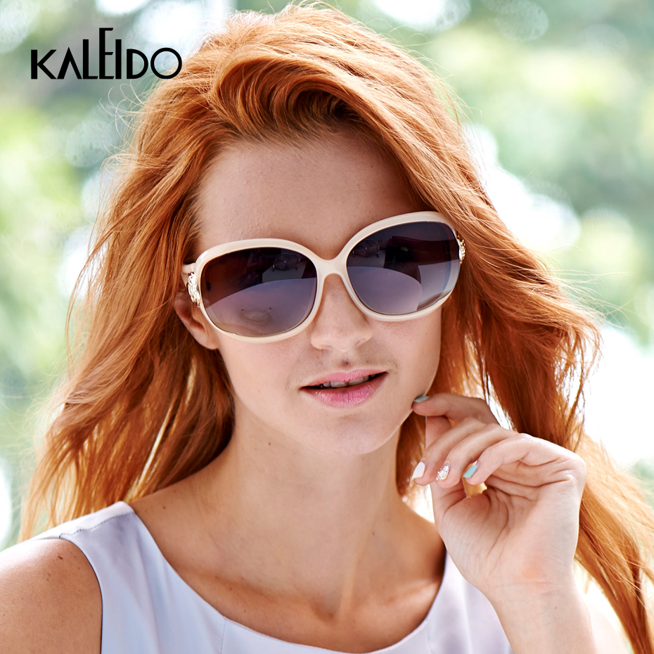 KALEIDO Oversized Polarized Sunglasses Women 2020 Big TR90 Frame Vintage Sun Glasses Female Luxury Brand TAC Lens UV400 Eyewear
