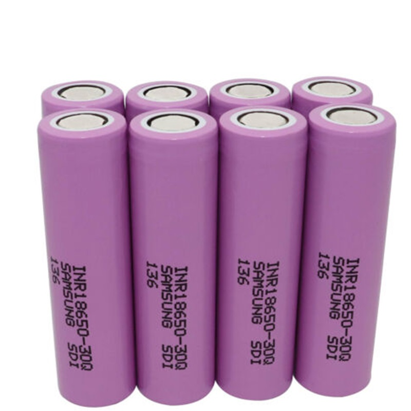 High Rate Capability 5C <font><b>15A</b></font> 100% Colorful original 3.6v <font><b>3000mah</b></font> 18650 <font><b>30Q</b></font> lithium ion battery cell for <font><b>samsung</b></font> image