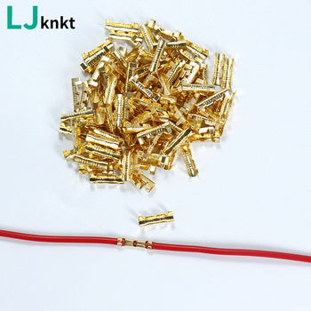 0.5 to 1.5 Square U-shaped Wire butt connector Electrical quick crimping terminal line connector t tap insulated electrical scotch lock wire quick connector terminal crimping non destructive without breaking line