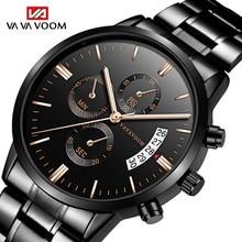 Relogio Masculino Mens Watches Top Brand Luxury Business Waterproof Wristwatch Relojes 2019 Watch Men Fashion Sport Quartz Clock все цены