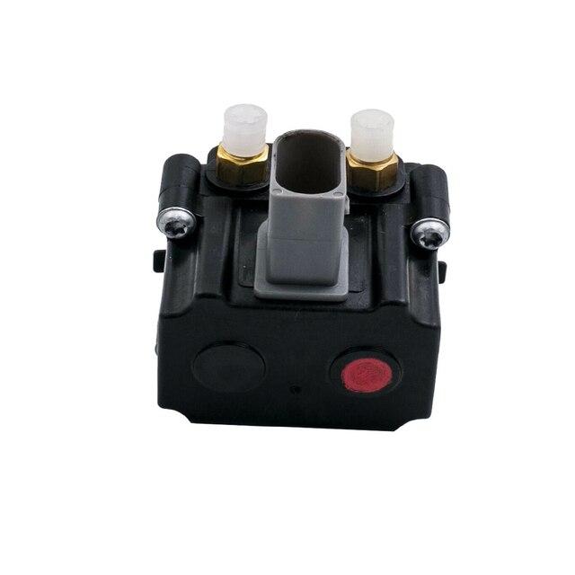 Kompresor zawieszenia pneumatycznego blokada zaworu dla BMW F01 F02 GT F07 F11 X5 F15 X6 F16 zawieszenie pneumatyczne amortyzator zawór powietrza