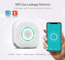 Wifi Gas Sensor Gas Leak Detector Alarm Tuya Smart Life App Smart Home Security Works With Alexa Google Home IFTTT