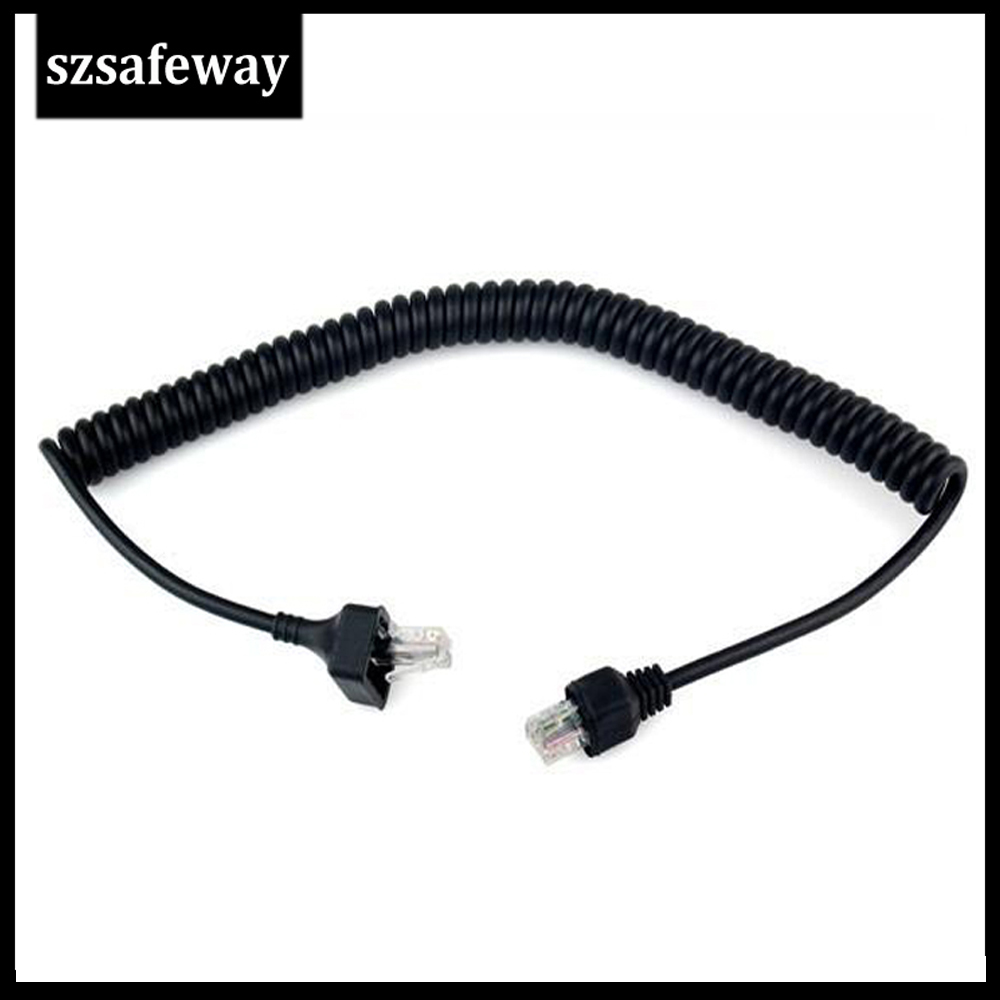 8PIN Speaker Mic Cable For Kenwood TK-868G TK-768G TK-862G TK-762G TK-7100 TK-8100 TM-261A, TM-271A, TM-461A Two Way Radio