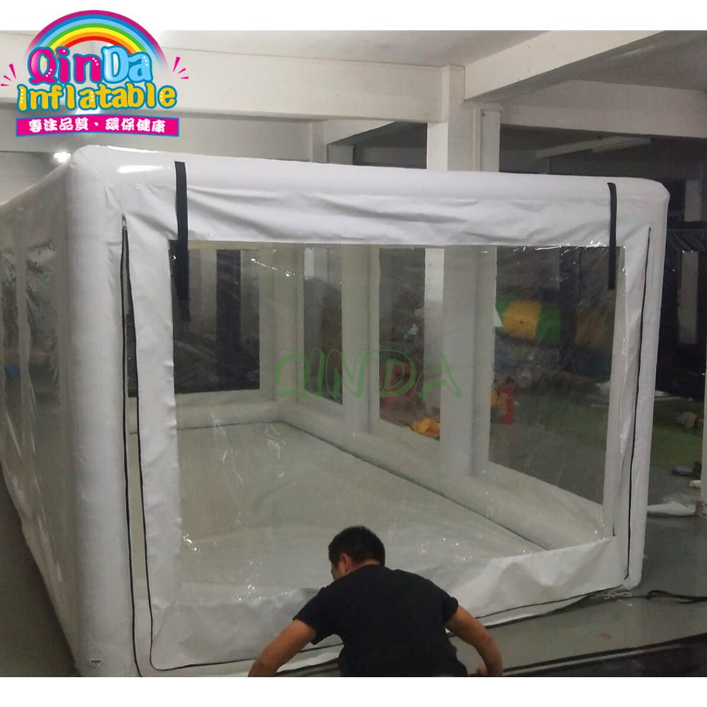 Air Sealed Car Capsule Showcase Customize Size Inflatable Car Garage Tent