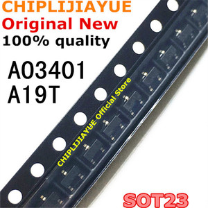 Image 1 - 50PCS AO3401 SOT23 A19T SOT 23 SOT23 3 SMD New and Original IC Chipset
