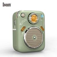 Divoom-minialtavoz Bluetooth con Radio FM, altavoz inalámbrico portátil para exteriores, con batería de larga duración, compatible con tarjeta TF
