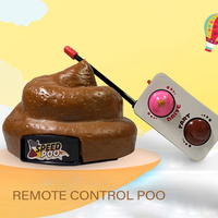 Remote Control Poop Car Toy Fart Simulation Tricky Toys Funny For Family Party Games Novelty Toys