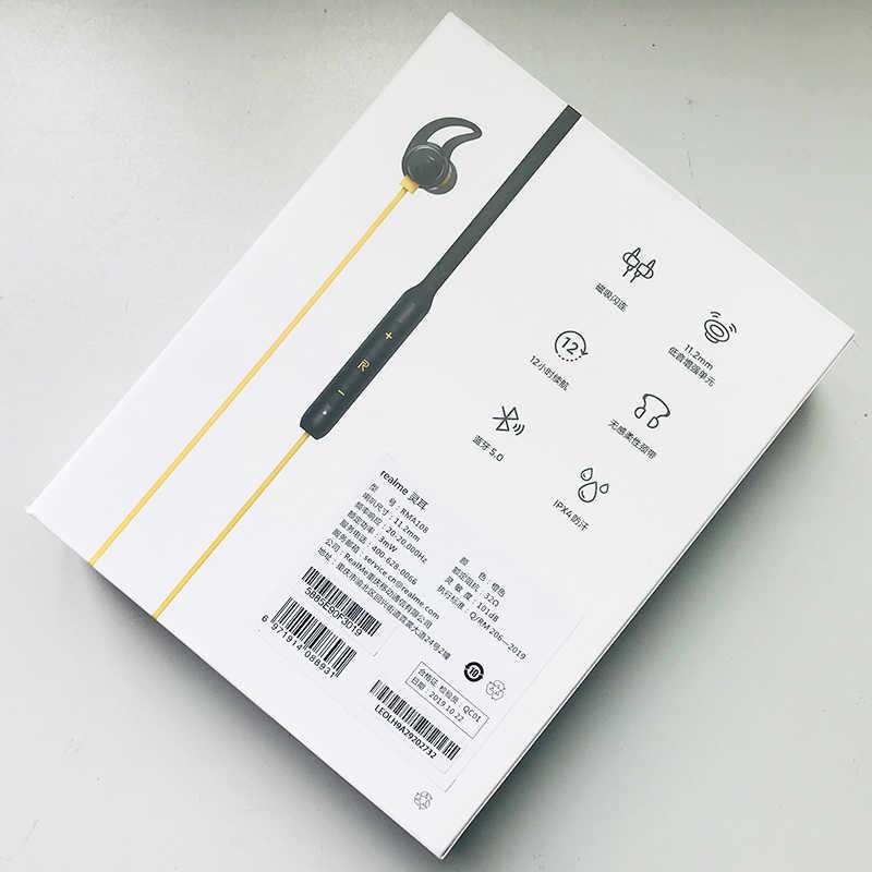 الأصلي ريليم براعم اللاسلكية بلوتوث 5.0 اتصال المغناطيسي سهلة التحكم باس دفعة سائق 12 ساعة عمر البطارية