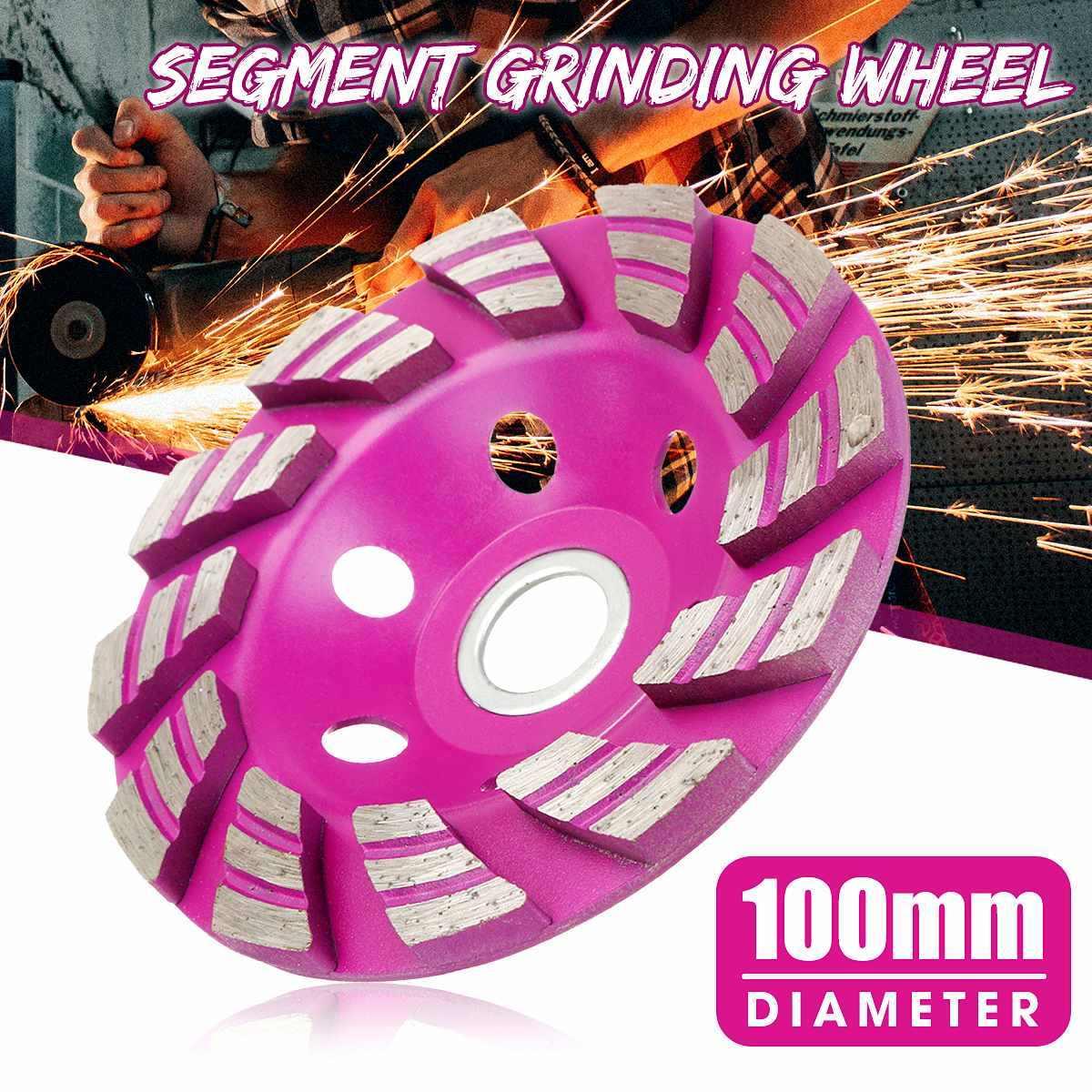 """1 stücke 100mm 4 """"Diamant Schleifen Rad Disc Schüssel Form Schleifen Tasse Schneiden für Beton Marmor Granit Stein keramik Werkzeuge"""