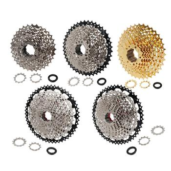 Mountain Bike FreeWheel 8/9/10/11/12 Speed 11-32/36/40/42/46/50T Steel Bike Cassette Flywheel Bicycle Sprocket For Shimano Sram image