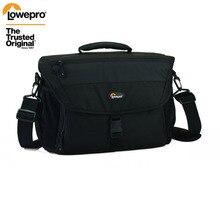 Sıcak satış hakiki Lowepro Nova 200 AW basit omuz çantası kamera çantası kamera çantası almak için kapak