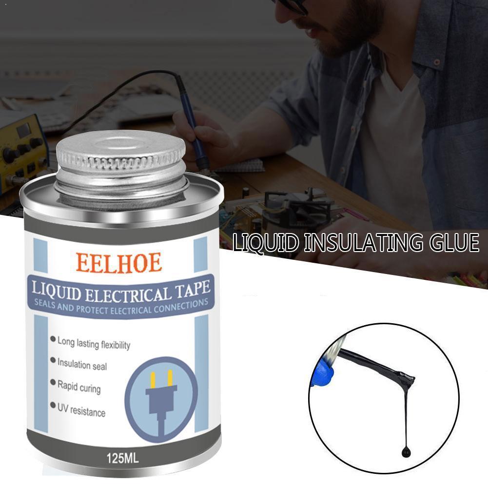 125 мл жидкая изоляционная электрическая лента труба паста сухой водонепроницаемый резиновый электронный анти УФ фиксация клей изоляция быстро Sealin O8S2|Жидкий клей|   | АлиЭкспресс