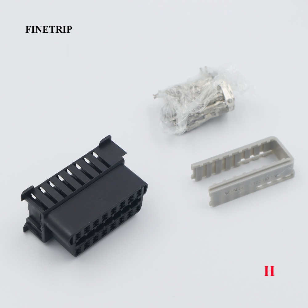 FINETRIP obd female connector H