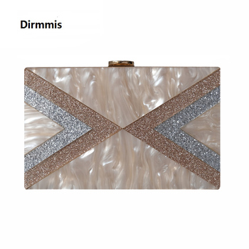 Women Messenger Bags New Party Wallet Elegant Wedding Sequins Patchwork Handbag Geometric Evening Bag Casual Vintage Box Clutch elegant hard box clutch silk satin dark green evening bags for matching shoes and womens wedding prom evening party bags
