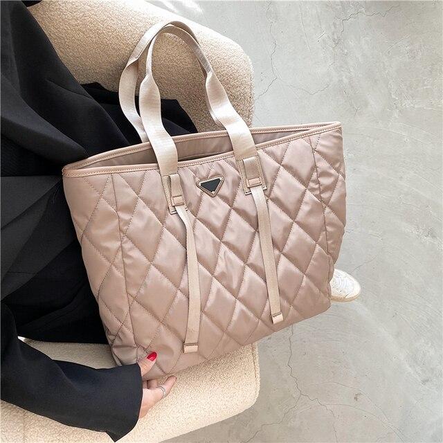 Large Nylon Pillow Bag  3