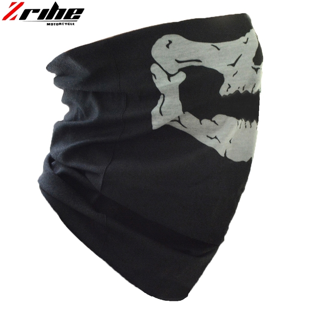 new style motorcycle skull ghost face windproof mask outdoor sports warm ski caps bicycle bike balaclavas scarf skull face mask 3