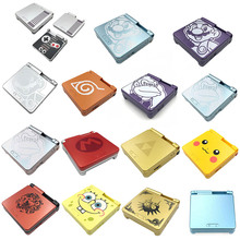 New Housing Shell for Nintend Gameboy Advance SP GBA SP Shell Replacement For GBASP Game Console Housing Case Cover With Buttons