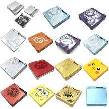 Yeni konut kabuk için nintendo Gameboy Advance SP GBA SP kabuk değiştirme GBASP oyun konsolu konut Case kapak ile düğmeler