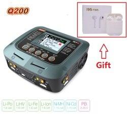 SKYRC Q200 inteligentna ładowarka/rozładowarka AC/DC Drone zabawka do utrzymywania równowagi z ładowarką do akumulatora kwasowego Lipo/LiHV/litowo-żelazowego/jonowego/NiMH/NiCD/ołowiowego