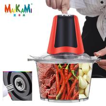 MAIKAMI 2 Speeds 350W ABS 3L Capacity Electric Chopper Meat Grinder Mincer Food Processor Slicer Free Shipping