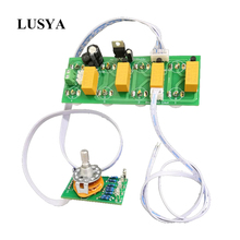 Lusya บลูทูธอินพุต 4 อินพุต 1 เอาท์พุทสัญญาณตัวเลือกการสลับเสียง RCA อินพุตสวิทช์เลือก BOARD T0808