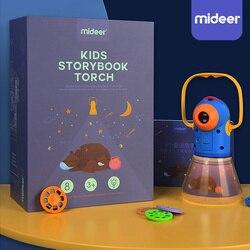 Libro de cuentos antorcha proyector caleidoscopio niños iluminan juguetes para bebés niños aprendizaje juguetes educativos para niños cuentos de hadas regalo