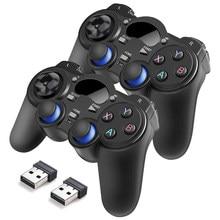 2.4G Wireless Gamepad Controllers Joystick For PC Laptop PS3 Android TV Box Joypad For Raspberry Pi 4 3 Retropie Retroflag