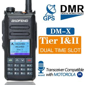 Image 2 - Dual Band DMR Baofeng DM X GPS Digital Radio Walkie Talkie 5W VHF UHF Dual Time Slot DMR Ham Amateur Radio Hf Transceiver