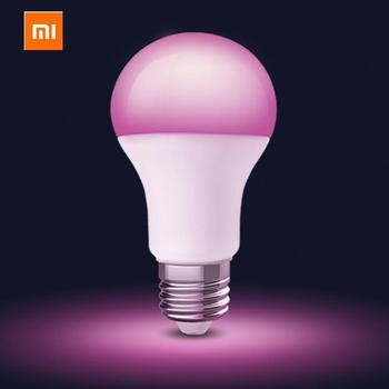 Xiaomi MIjia Philips Smart LED Color Bulb E27 Light Wifi Mi Home APP Remote Control LED Lamp with Alexa and Google Assistant