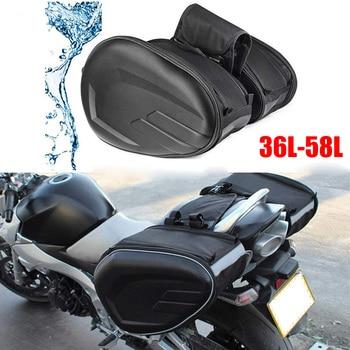 2019 Newest SA212 Motorcycle Waterproof Racing Race Moto Helmet Travel Bags Suitcase Saddlebags + One Pair of Raincoat 1
