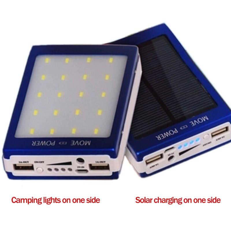 ¡Producto en oferta! Banco de energía Solar de 30000mAh, Panel Solar portátil de viaje móvil, carga automática en el sol, cargador de batería externo