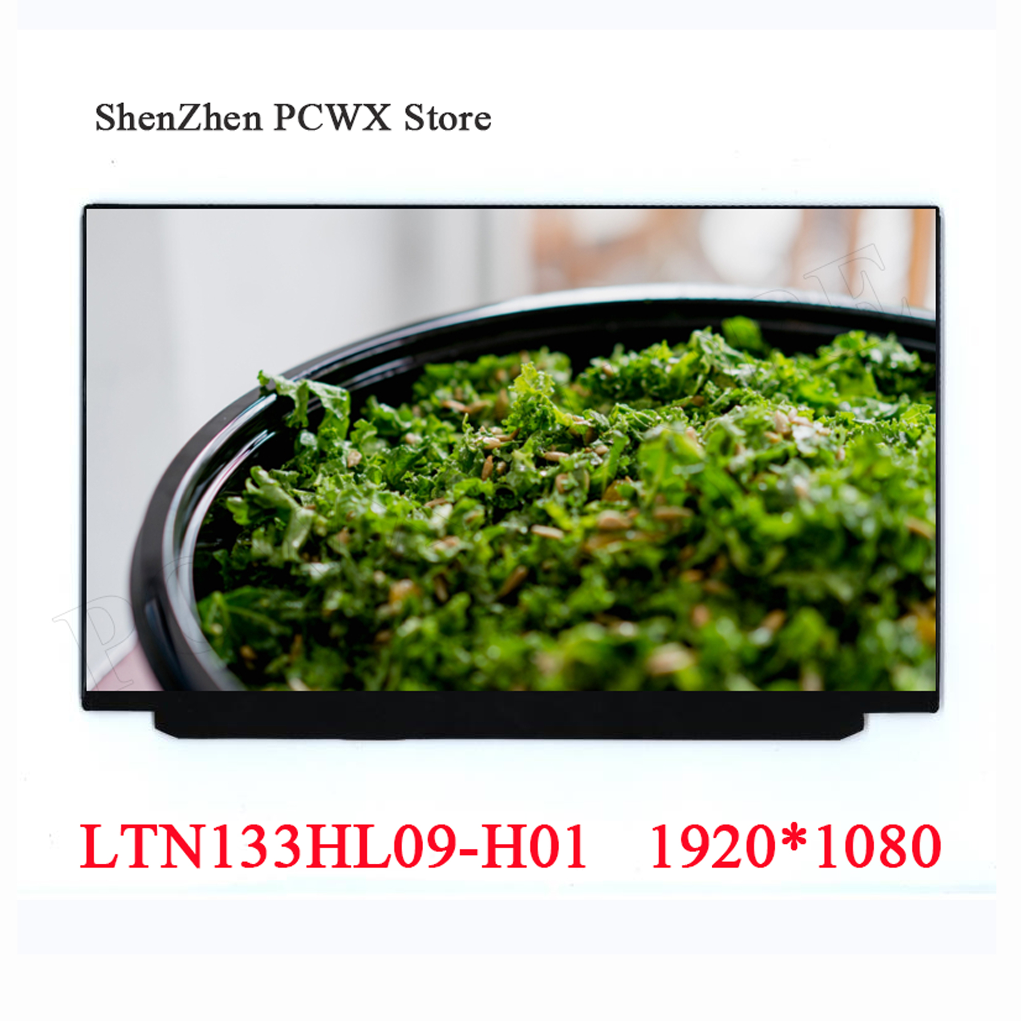 LTN133HL09-H01 13.3 inch Matrix Laptop LCD Screen Replacement Resolution FHD 2K 1920*1080 Notebook Slim LCD Display Panel New