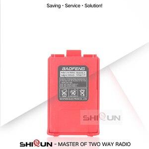 Image 5 - 4 pces ou 10 pces UV 5R bateria original baofeng walkie talkie acessórios para baofeng uv 5r 1800mah rádio 7.4v li ion bateria uv5r