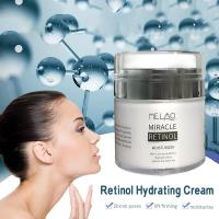 MELAO 2.5% Retinol Moisturizer Cream Hyaluronic Acid Anti Aging Reduces Wrinkles Fine Lines Day And Night Retinol Cream 50ml 4