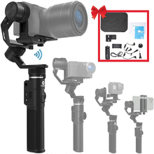 Used Feiyu G6 MAX 3 Axis Gimbal Stabilizer for Mirrorless Cameras Smartphone Action Cameras Pocket Cameras MAX Payload 2 65LB cheap FEIYUTECH 3-Axis action photo cameras SMARTPHONES CN(Origin) Bluetooth handheld gimbal FEIYUTECH G6 MAX Following the shooting mode