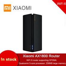 Xiaomi – routeur sans fil AX1800, 256 mo, 2.4/5 ghz, OFDMA, Gigabit à Gain élevé, 2 antennes, répéteur double fréquence