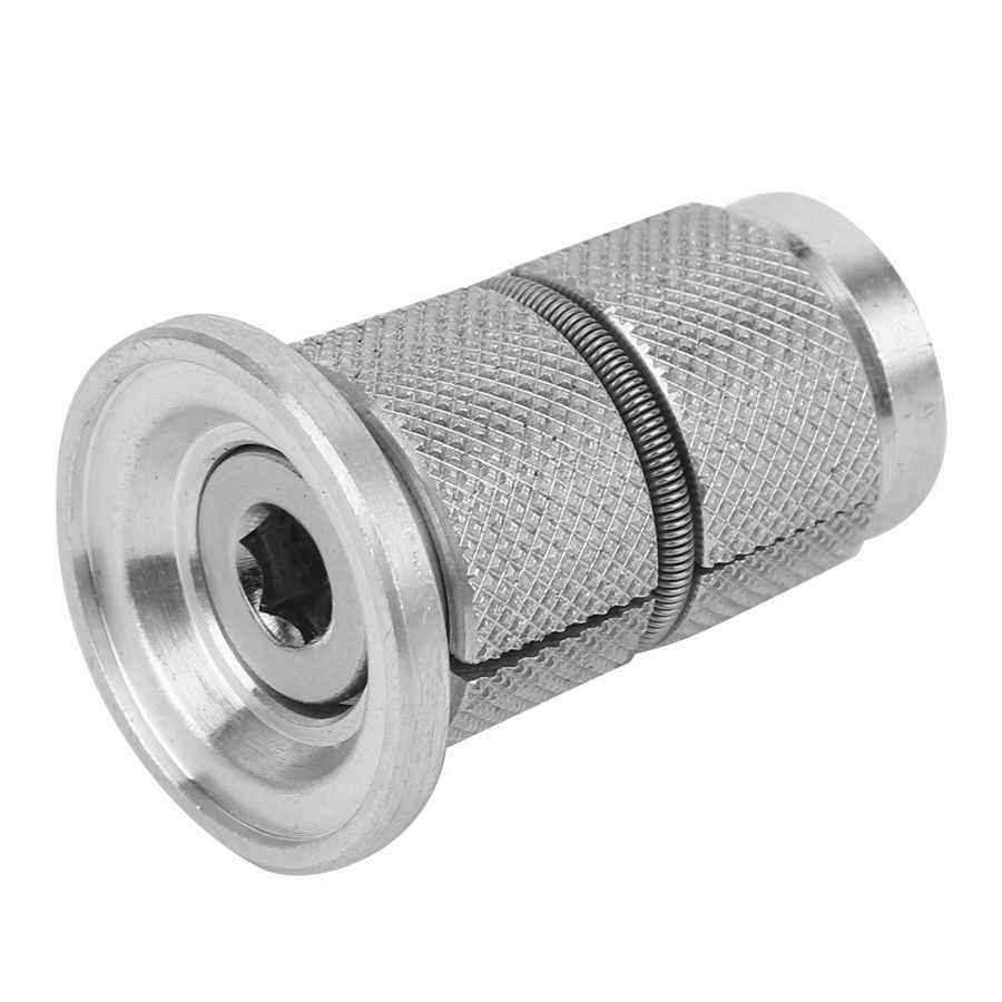 Aluminum Alloy Bike Headset Expander Plug For 28.6mm Carbon Fiber Fork Part New