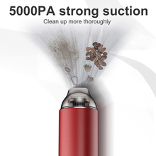 Car-Vacuum-Cleaner 5000pa Super-Suction Handheld Mini Portable Wireless for Low-Noise