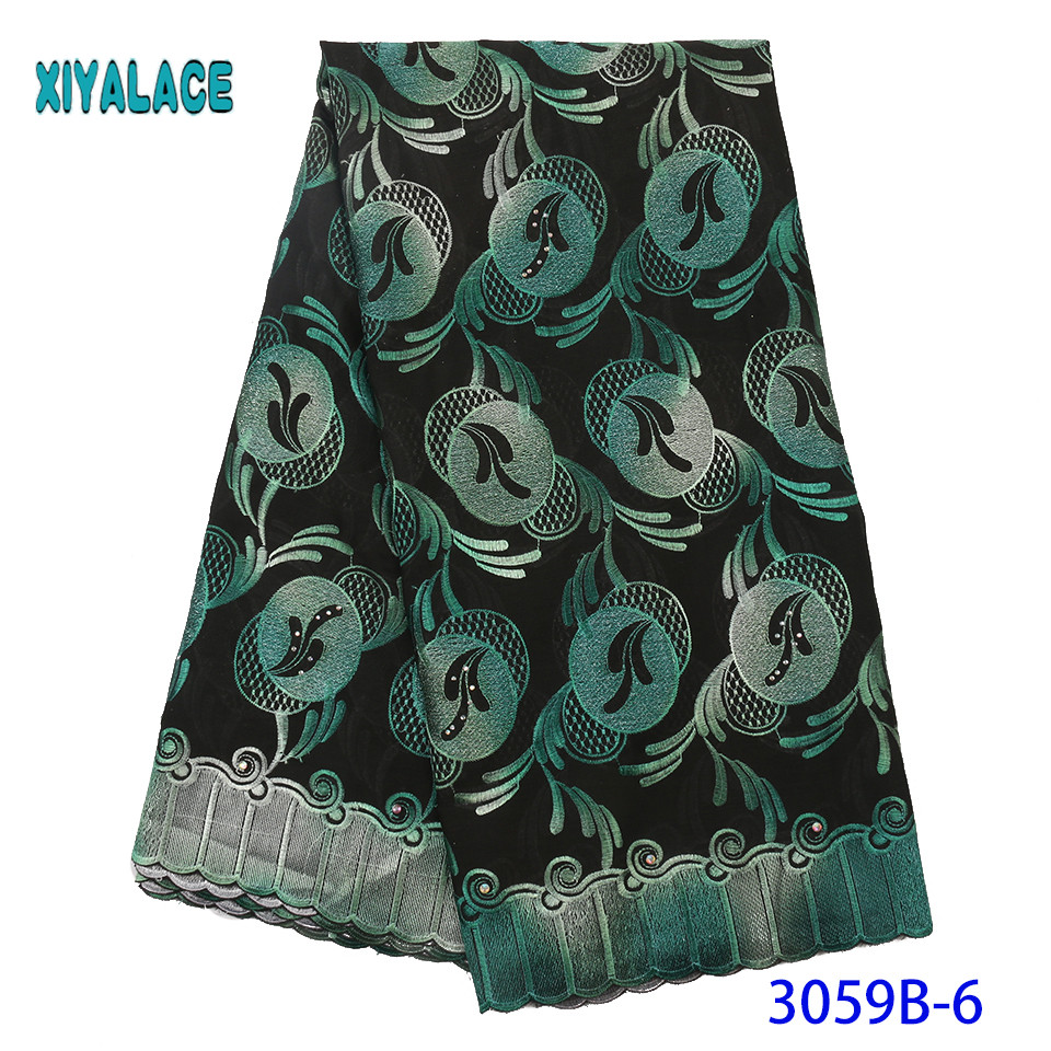 Nigerian Lace 2019 High Quality Embroidery French Lace Fabric African Lace Fabric Latest Bridal Lace For Party Dress YA3059B-6