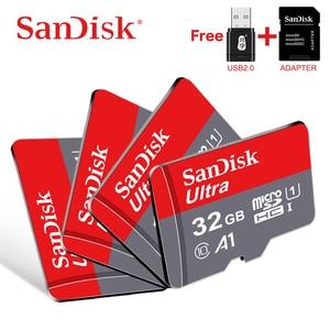 Original Sandisk Memory card 128GB 64G microsd tf card 32G 16G SDXC SDHC Micro sd card Cartao De Memoia free shipping flash card