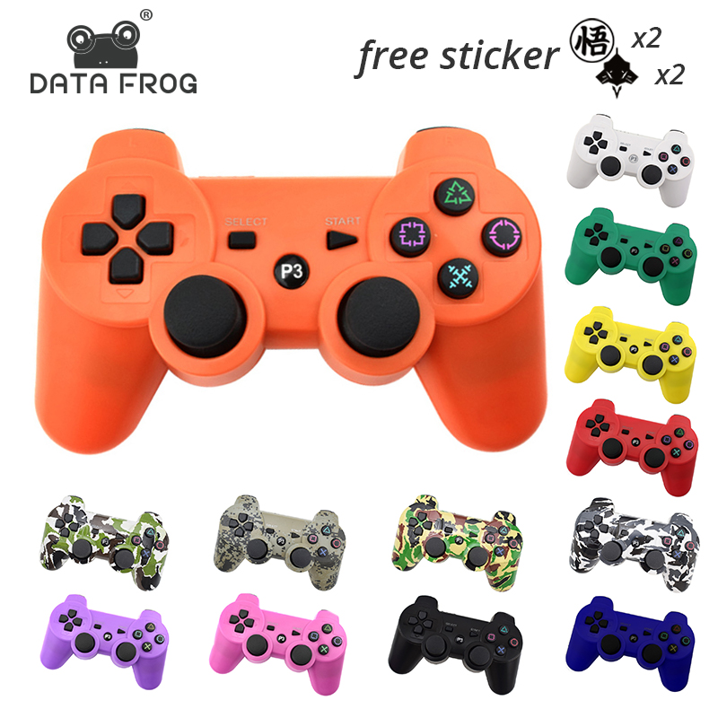 Data Frog For Sony Playstation3 For Ps3 Controller Wireless Bluetooth Gamepad Joystick For Mando Ps3 Pc Gamepads Controle Joystick Joysticks Pc Joystickjoystick For Pc Aliexpress