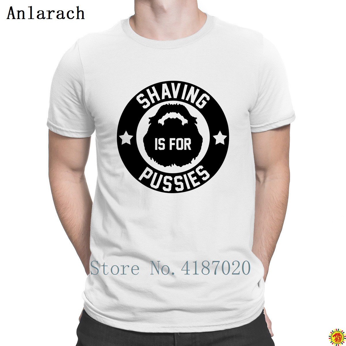<font><b>Shaving</b></font> Is For Pussies T <font><b>Shirt</b></font> Hot Sale Great Letter Designing Men's T <font><b>Shirt</b></font> 100% Cotton Latest 2018 Tee <font><b>Shirt</b></font> HipHop image