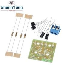 Kit de circuito electrónico para bricolaje, Kit de iluminación electrónica de 1,2mm para Arduino Flash, Kit DIY electrónico