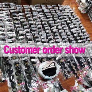 Image 5 - JARIN 9 Pieces/lot Bulk Sale Peruvian Straight Human Hair Extension 100% Remy Hair Bundles 30 32 34 36 38 Inch Long Hair Weave