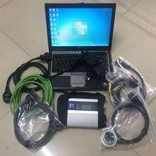 Новинка, Mb Star C4, SD, подключение, компактный, 4, диагностический инструмент с аксессуарами, кабели+ D630, программное обеспечение для ноутбука, HDD, готов к использованию