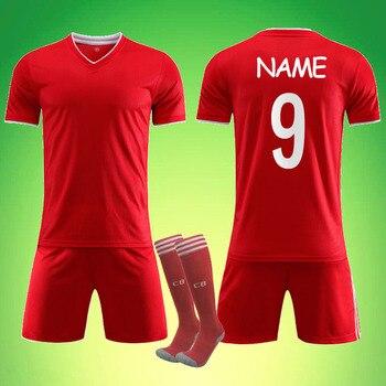 Camisetas en blanco 2021, camiseta para adultos de fútbol para niños, personalizada 9 Lewand 10 Sane 25 Muller, conjunto de uniformes de fútbol, camisetas para Bayerr