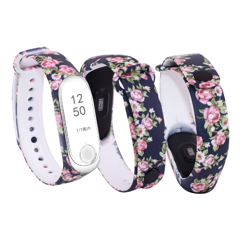 Miband 3 Strap Mi Band 3 Accessories Silicone Varied Strap Pulsera Correa Mi Band 3 Replacement For Xiaomi Mi 3 Smart Bracelet