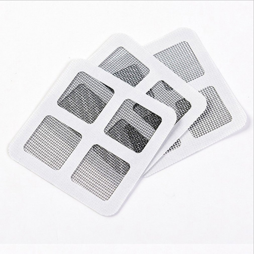Anti-Insect Fly Door Window Anti Mosquito Screen Net Mesh Repair Tape Patch Adhesive Stickers For Home Office