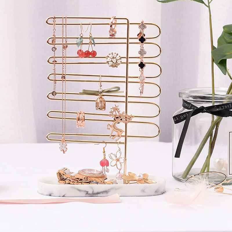 Bijoux cadre Bracelet collier boucle d'oreille anneau présentoir fenêtre affichage arrière bijoux support